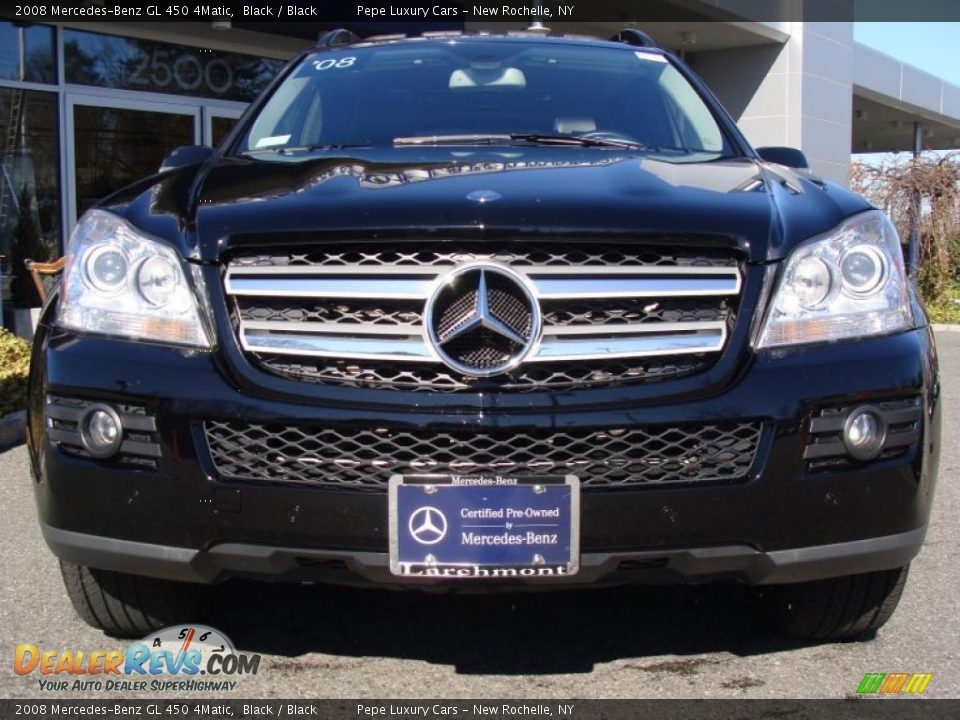 2008 mercedes benz gl 450 4matic black black photo 3 for 2008 mercedes benz gl450 4matic