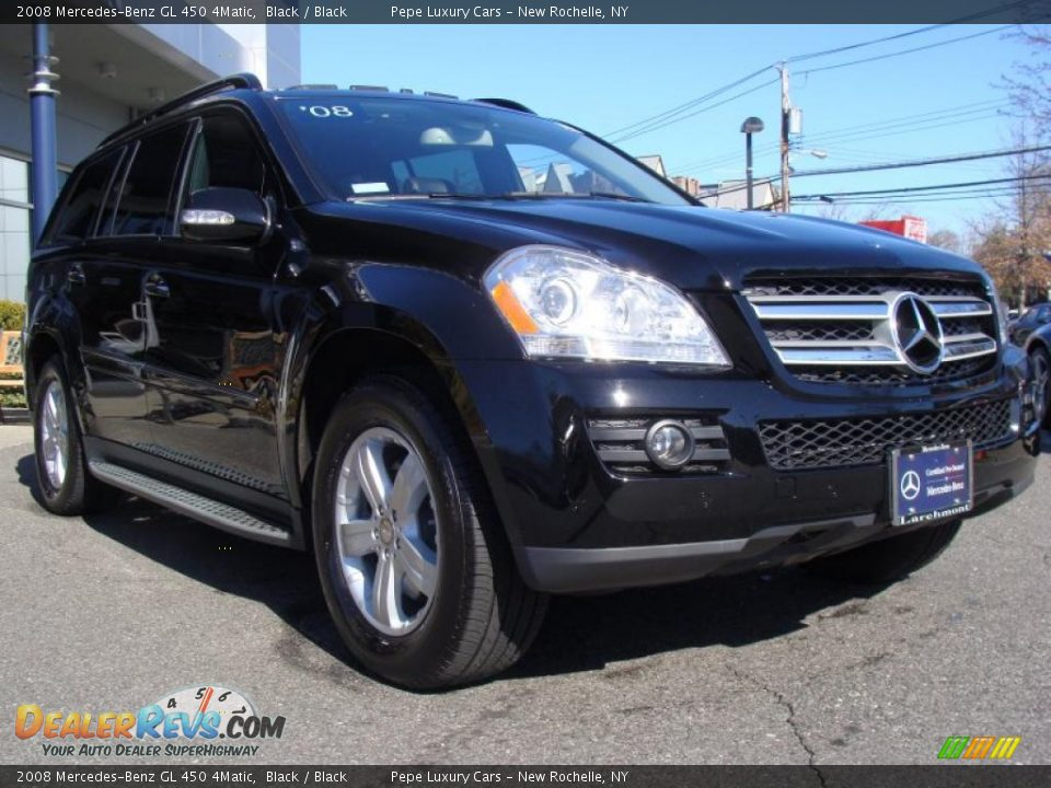 2008 mercedes benz gl 450 4matic black black photo 4 for Mercedes benz gl 2008