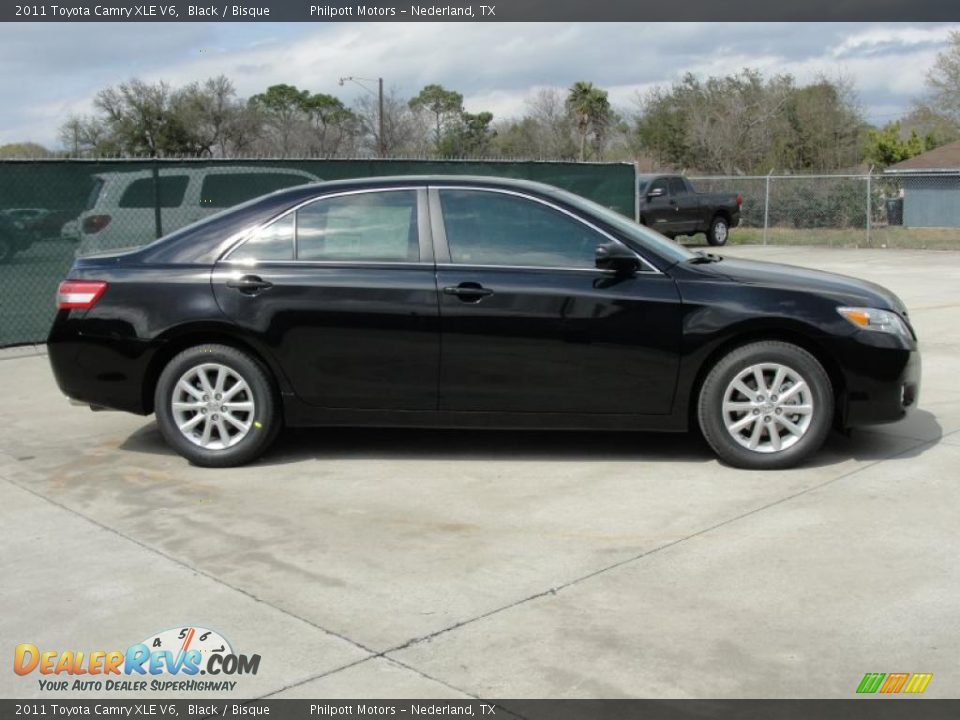 2011 toyota camry xle v6 black bisque photo 2. Black Bedroom Furniture Sets. Home Design Ideas