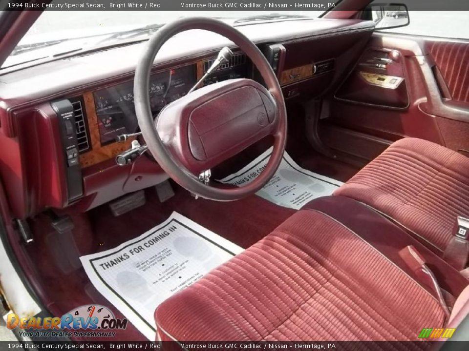 red interior 1994 buick century special sedan photo 10 dealerrevs com dealerrevs com
