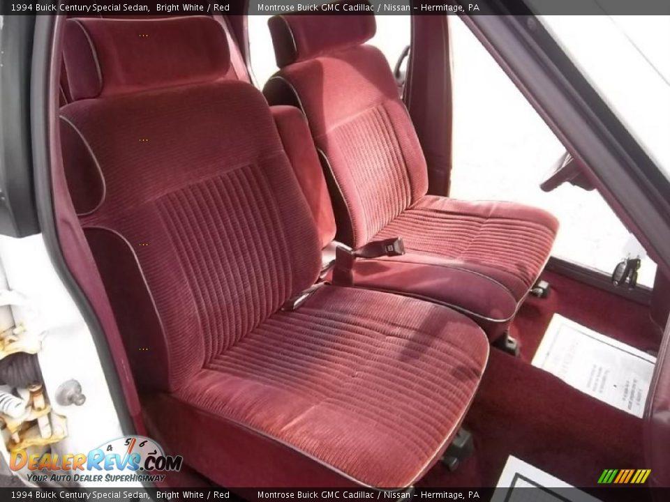 red interior 1994 buick century special sedan photo 17 dealerrevs com dealerrevs com