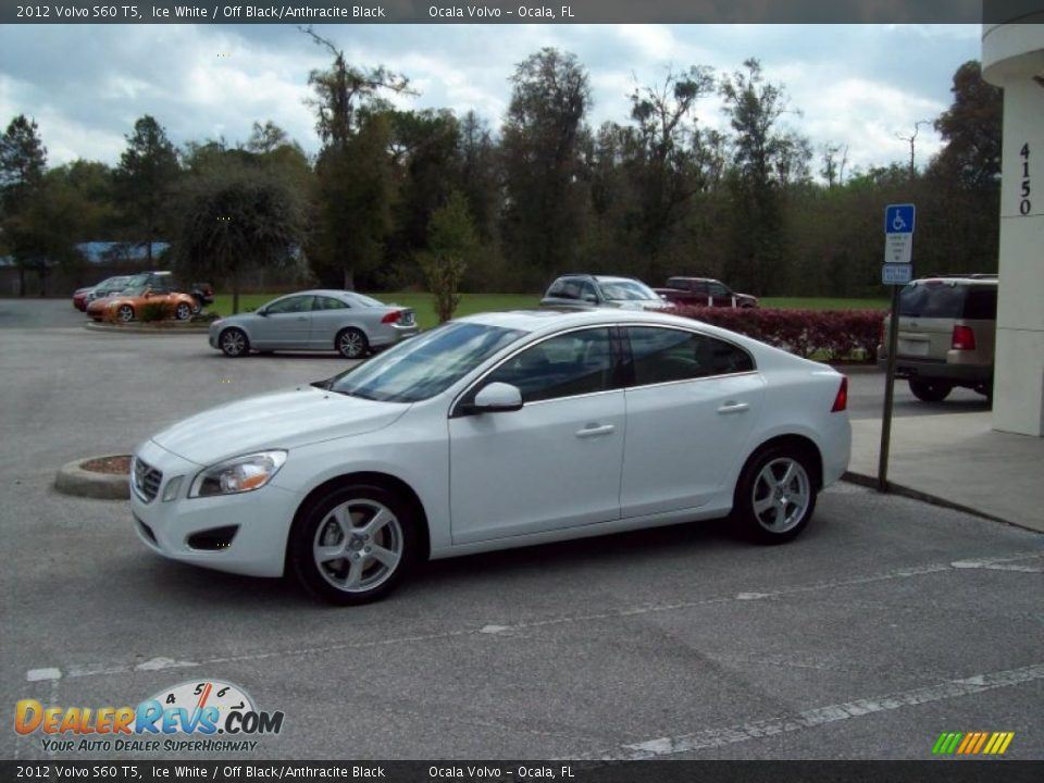 2012 volvo s60 t5 ice white off black anthracite black photo 4. Black Bedroom Furniture Sets. Home Design Ideas