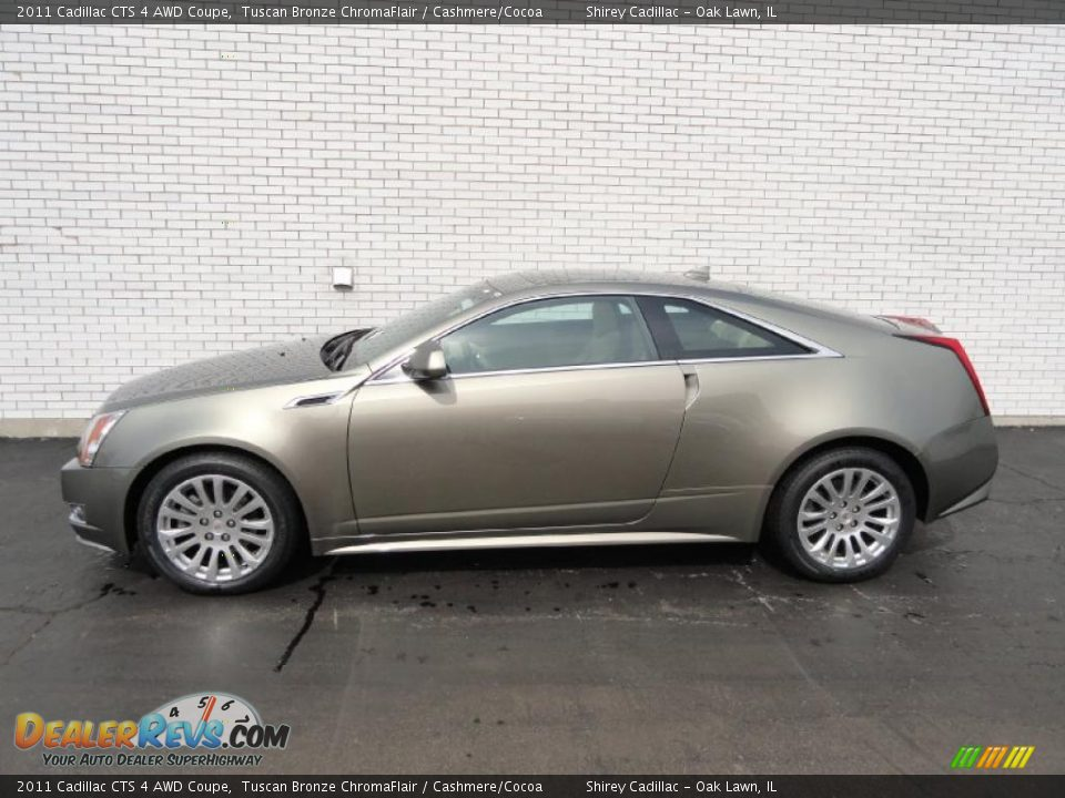 Used Cadillac Cts Coupe >> Tuscan Bronze ChromaFlair 2011 Cadillac CTS 4 AWD Coupe Photo #7 | DealerRevs.com
