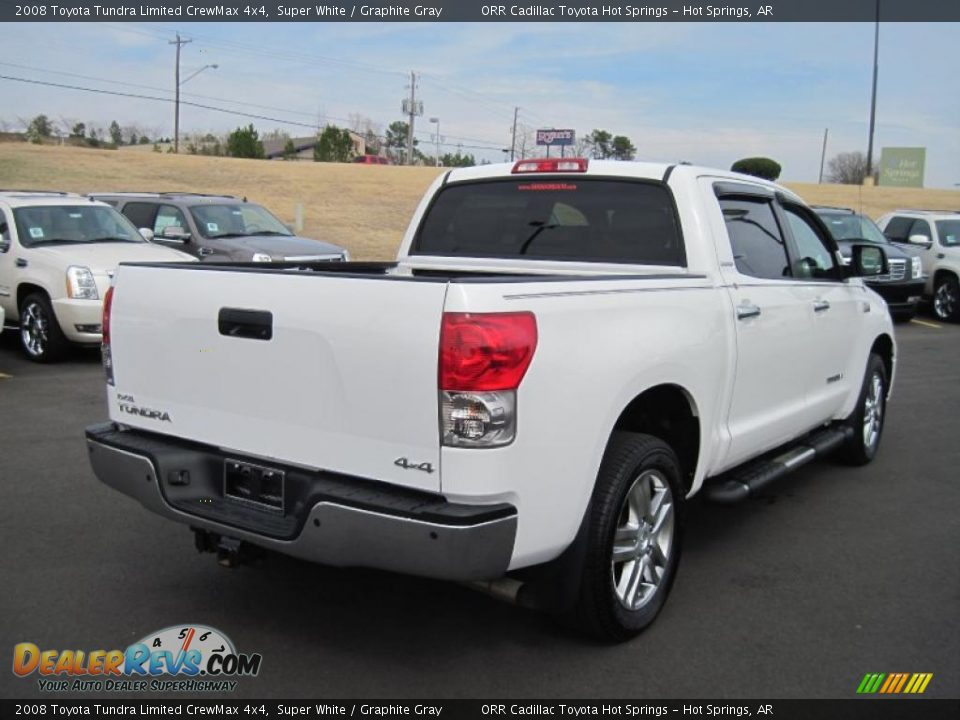 2008 toyota tundra limited crewmax 4x4 super white