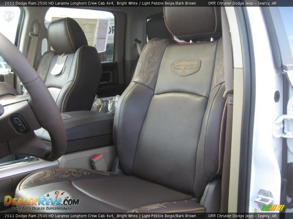 Light pebble beige bark brown interior 2011 dodge ram - Dodge ram 2500 laramie longhorn interior ...
