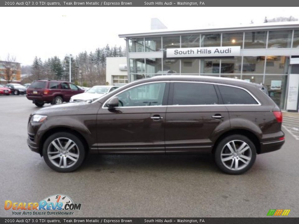 2010 Audi Q7 3 0 Tdi Quattro Teak Brown Metallic