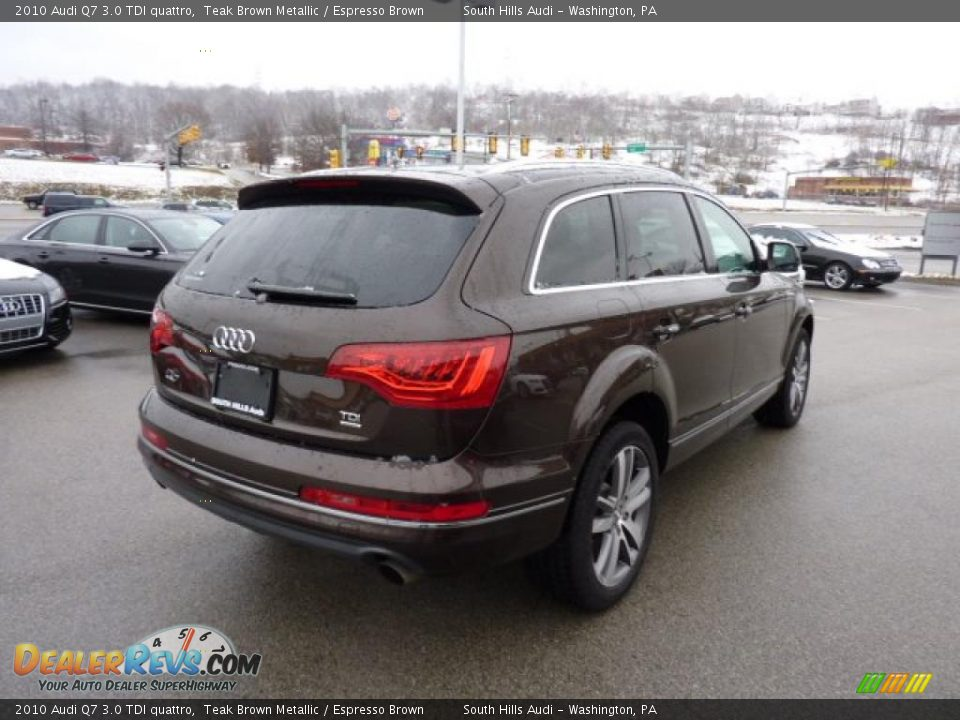 2010 audi q7 3 0 tdi quattro teak brown metallic. Black Bedroom Furniture Sets. Home Design Ideas