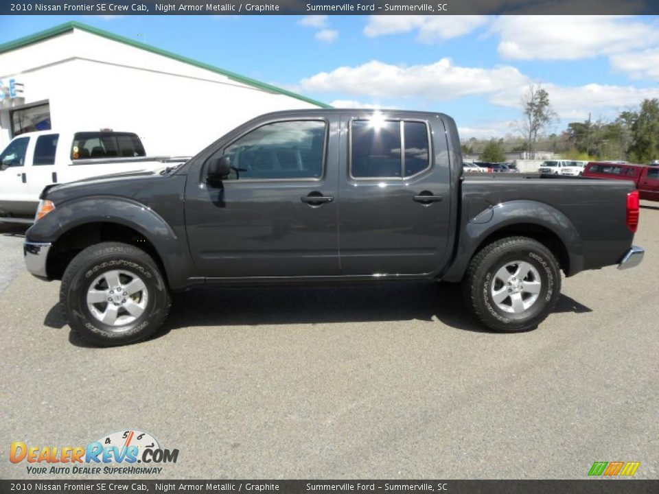 2010 nissan frontier se crew cab night armor metallic graphite photo 2. Black Bedroom Furniture Sets. Home Design Ideas
