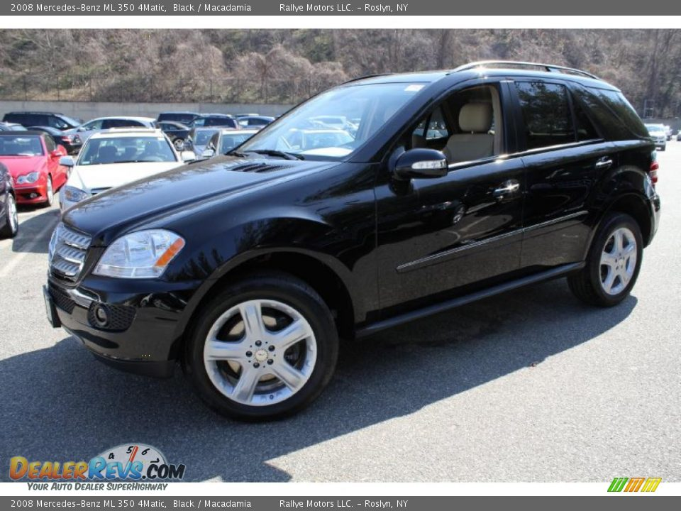 2008 mercedes benz ml 350 4matic black macadamia photo for Mercedes benz ml 350 2008