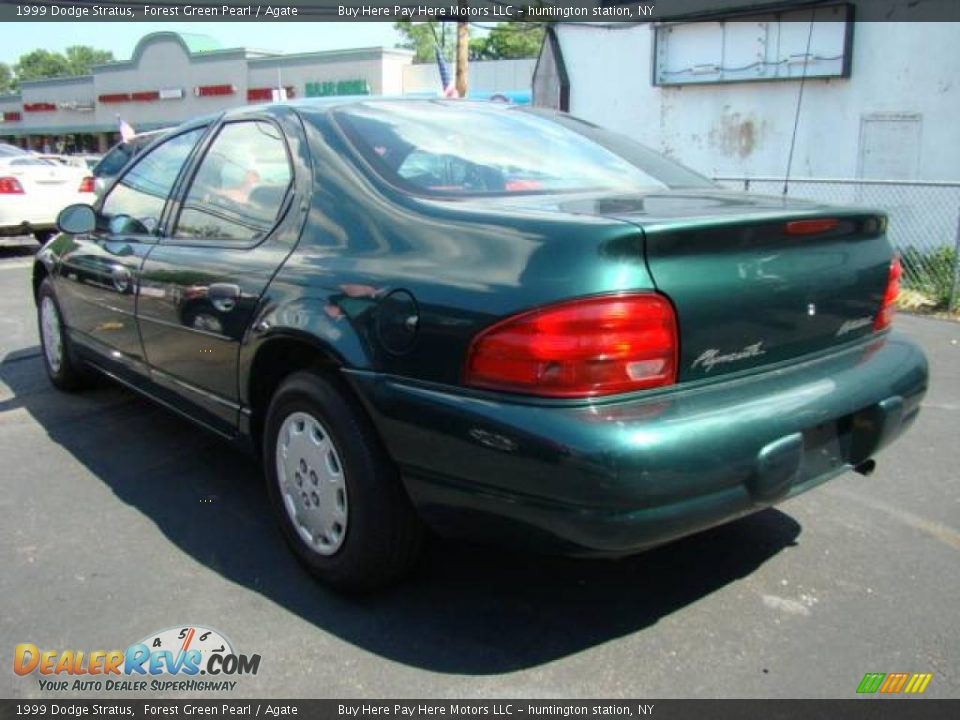 Forest Green Pearl 1999 Dodge Stratus Photo 2