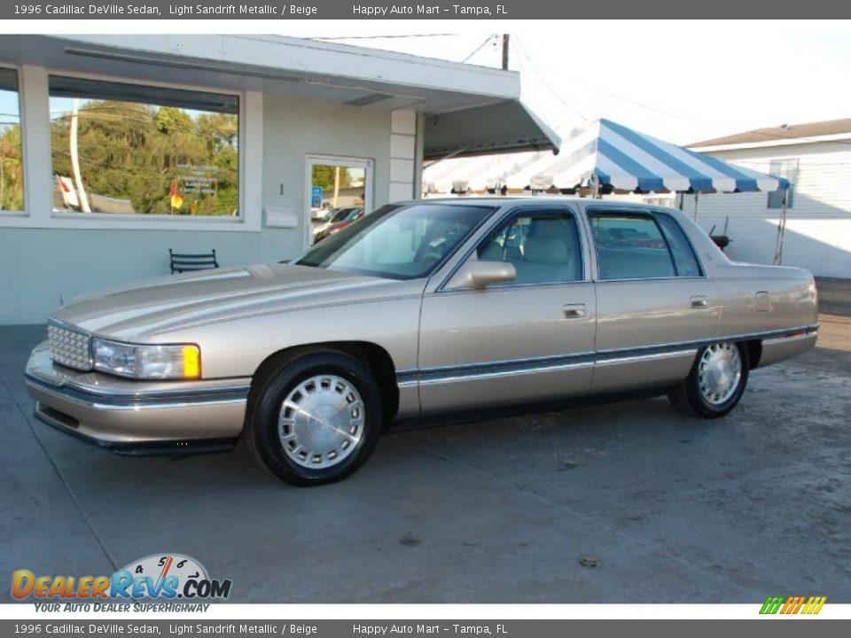1996 cadillac deville sedan light sandrift metallic beige photo 3 dealer. Cars Review. Best American Auto & Cars Review