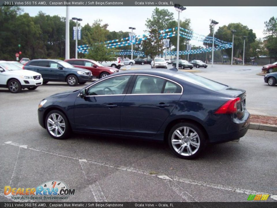 2011 volvo s60 t6 awd caspian blue metallic soft beige. Black Bedroom Furniture Sets. Home Design Ideas