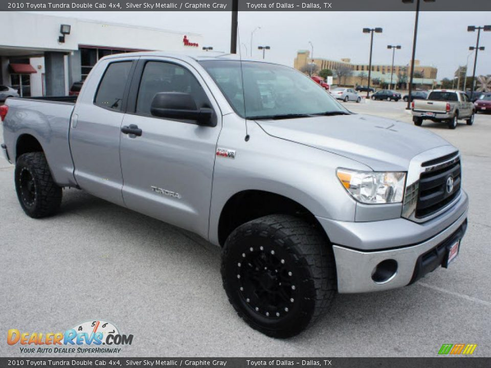 2010 toyota tundra double cab 4x4 silver sky metallic. Black Bedroom Furniture Sets. Home Design Ideas