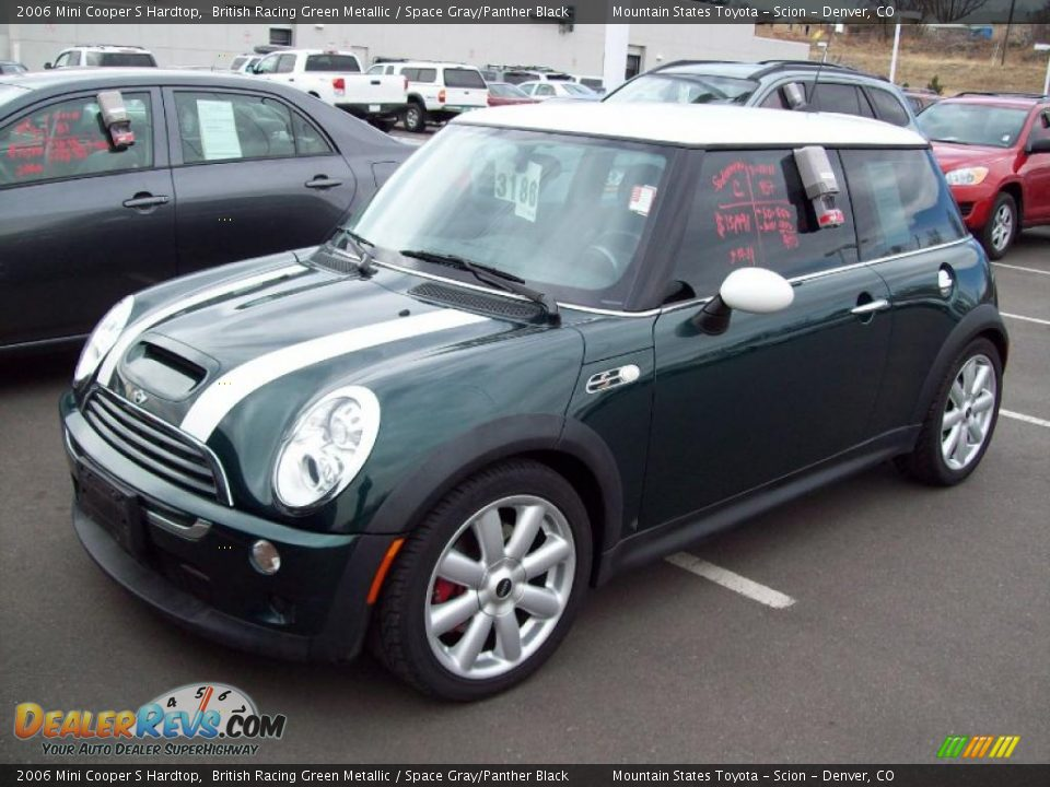 British Racing Green Metallic 2006 Mini Cooper S Hardtop