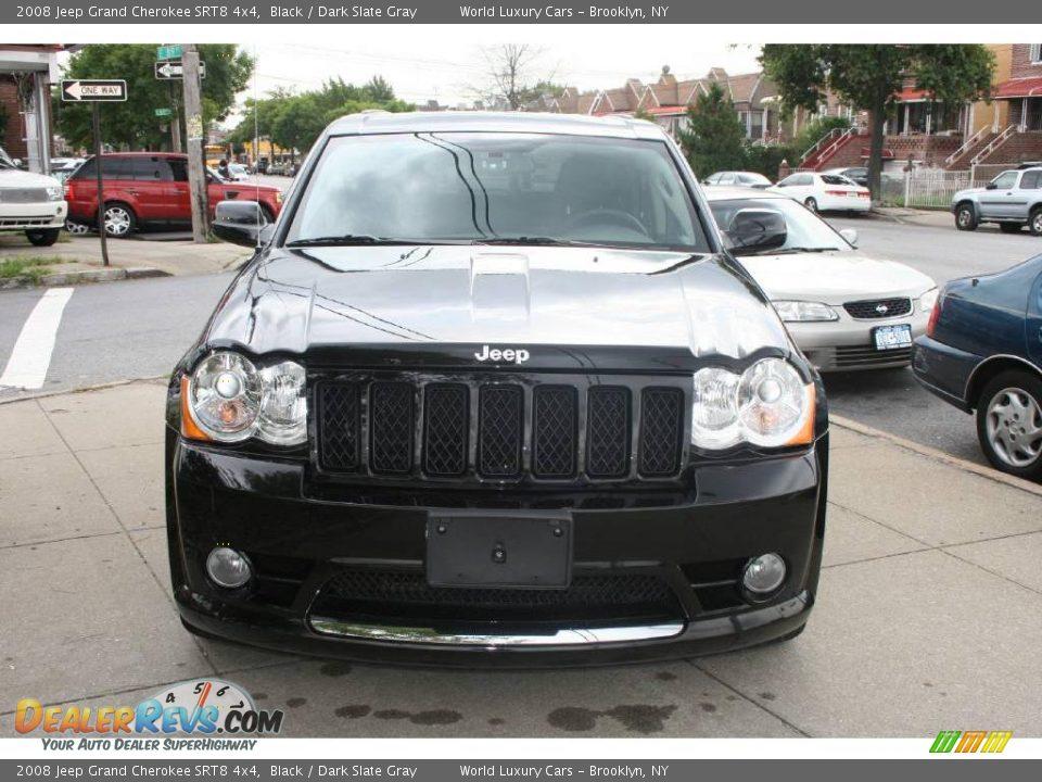 2008 jeep grand cherokee srt8 4x4 black dark slate gray photo 2. Black Bedroom Furniture Sets. Home Design Ideas