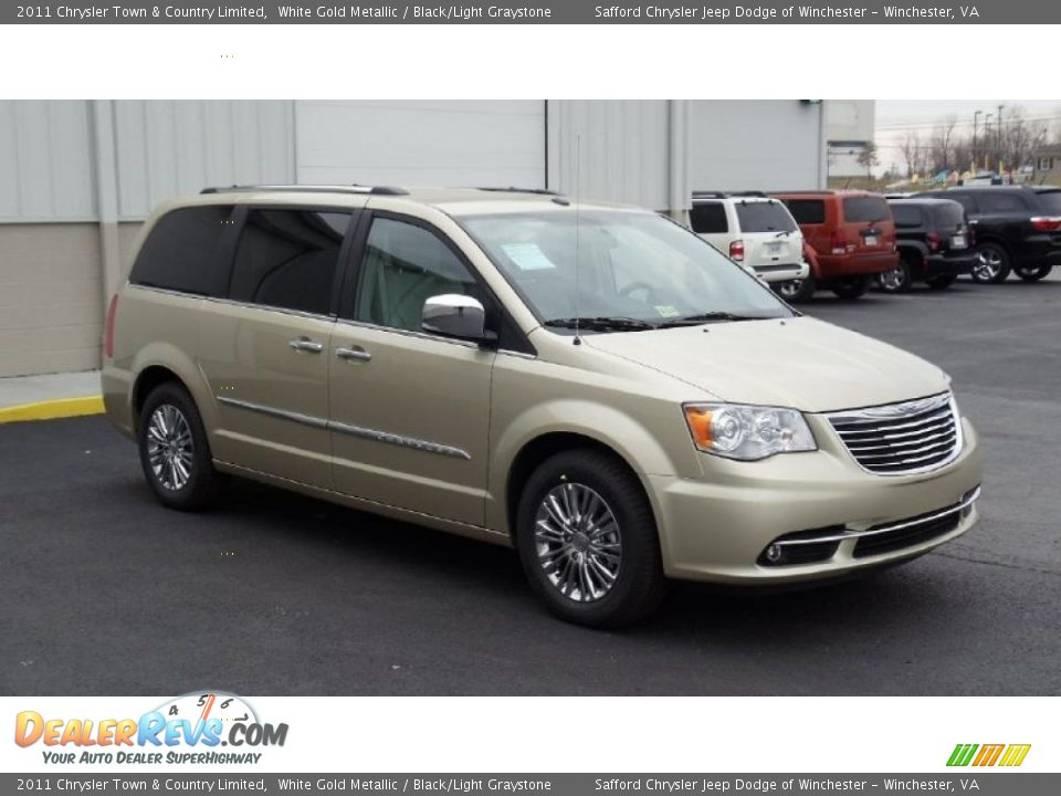white gold metallic 2011 chrysler town country limited photo 3. Cars Review. Best American Auto & Cars Review