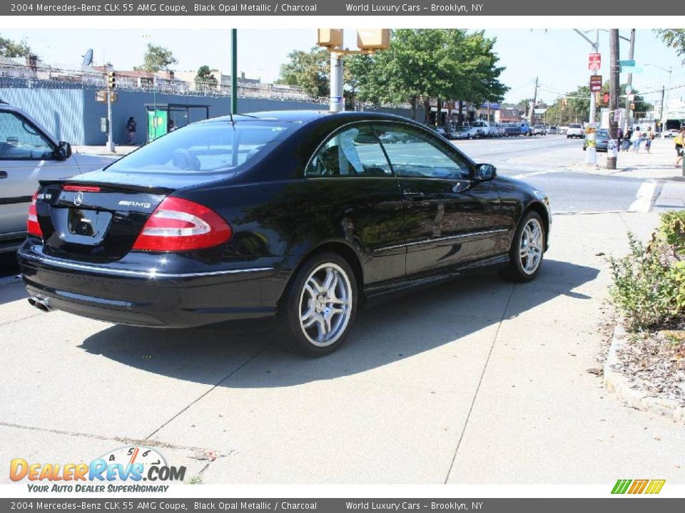 2004 mercedes benz clk 55 amg coupe black opal metallic for 2004 mercedes benz clk500 coupe