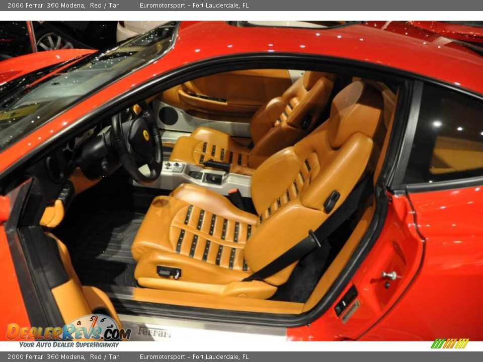 tan interior 2000 ferrari 360 modena photo 14. Black Bedroom Furniture Sets. Home Design Ideas