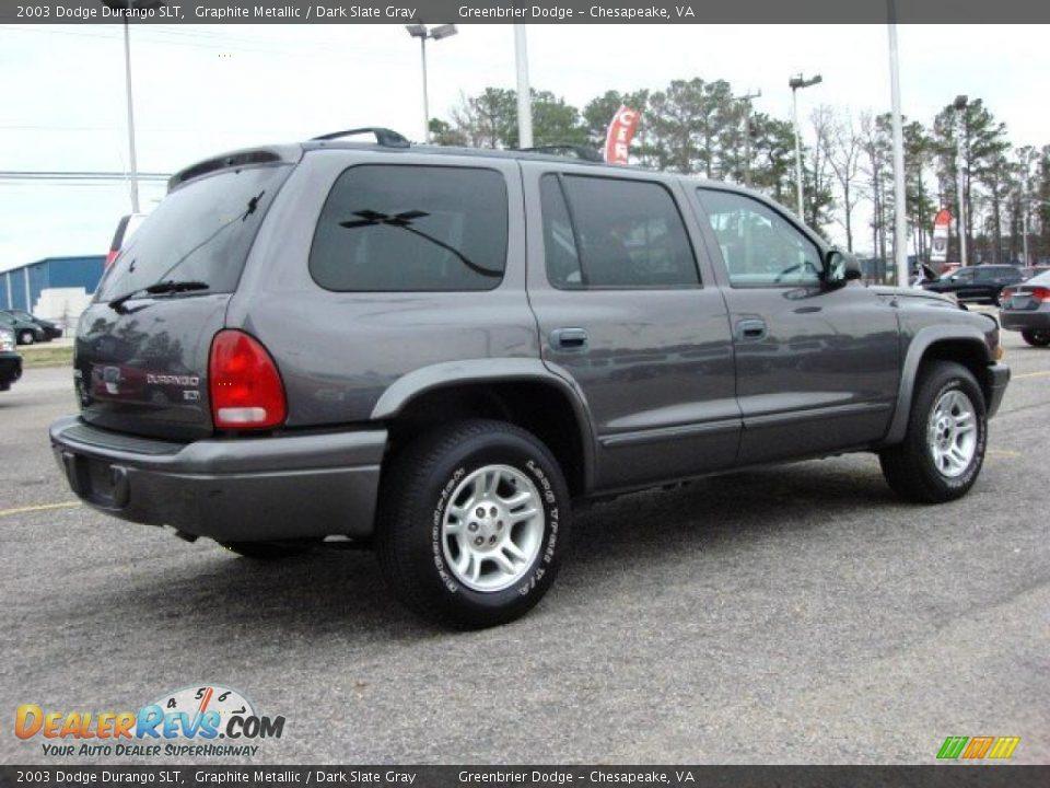 2003 Dodge Durango Slt Graphite Metallic Dark Slate Gray
