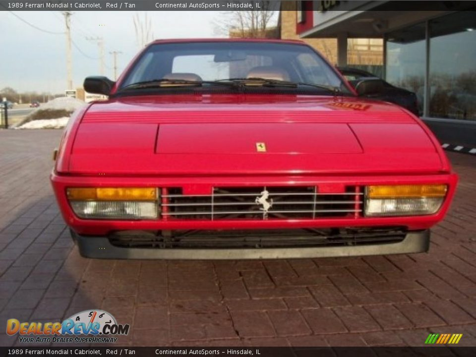 1989 Ferrari Mondial T Cabriolet Red Tan Photo 12