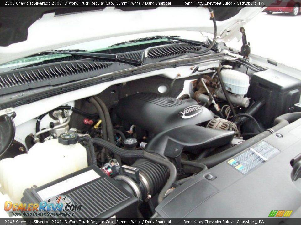 2006 chevrolet silverado 2500hd work truck regular cab 6 0 liter ohv 16 valve vortec v8 engine. Black Bedroom Furniture Sets. Home Design Ideas