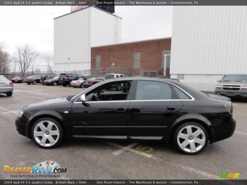 Brilliant Black 2004 Audi S4 4 2 Quattro Sedan Photo 11