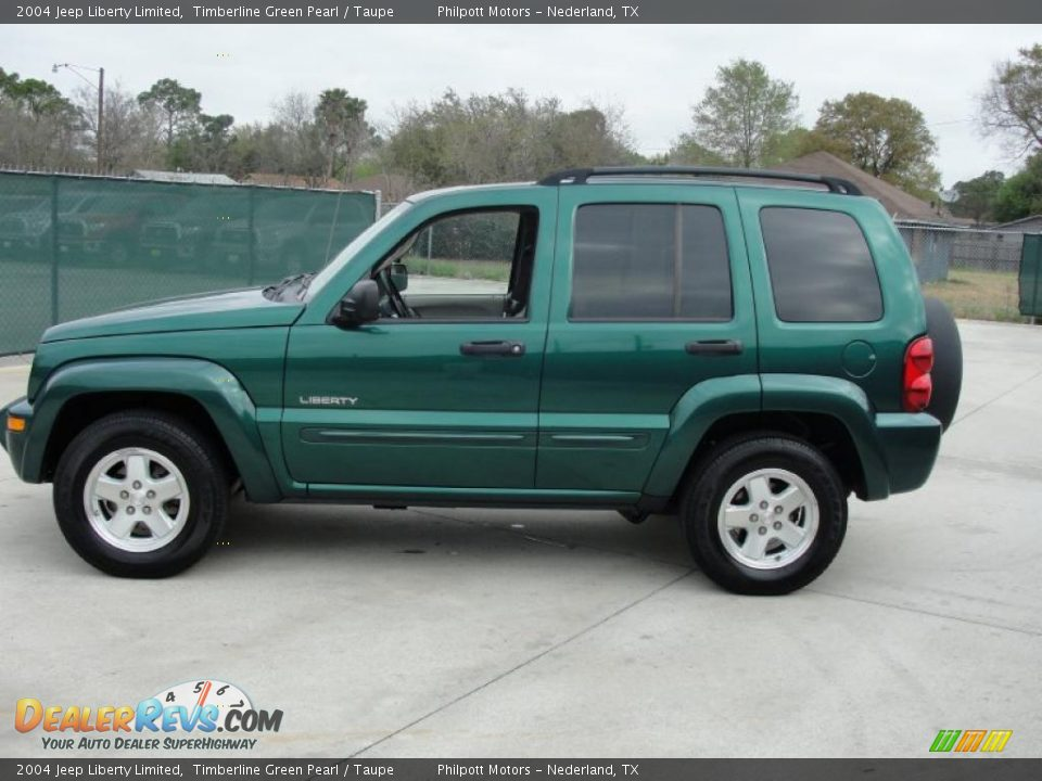 timberline green pearl 2004 jeep liberty limited photo 6 dealerrevs. Cars Review. Best American Auto & Cars Review