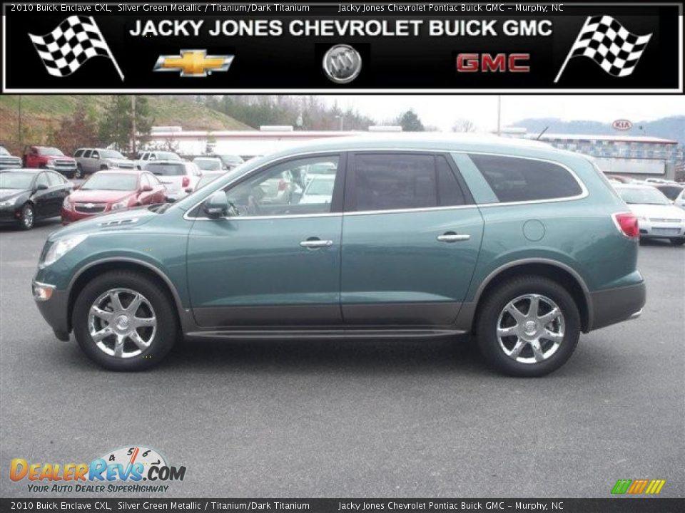 2010 Silver Buick Enclave