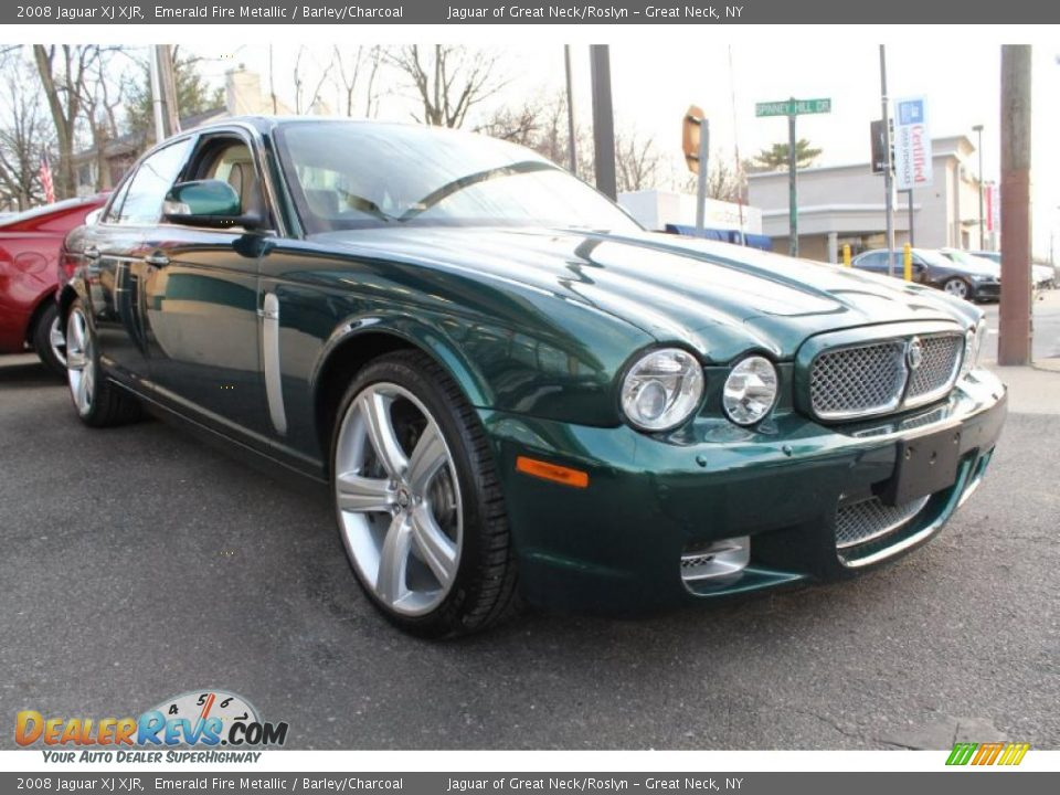 Jaguar Emerald Fire 2008 Jaguar xj Xjr Emerald