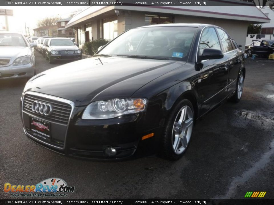 2007 audi a4 2 0t quattro sedan phantom black pearl effect. Black Bedroom Furniture Sets. Home Design Ideas