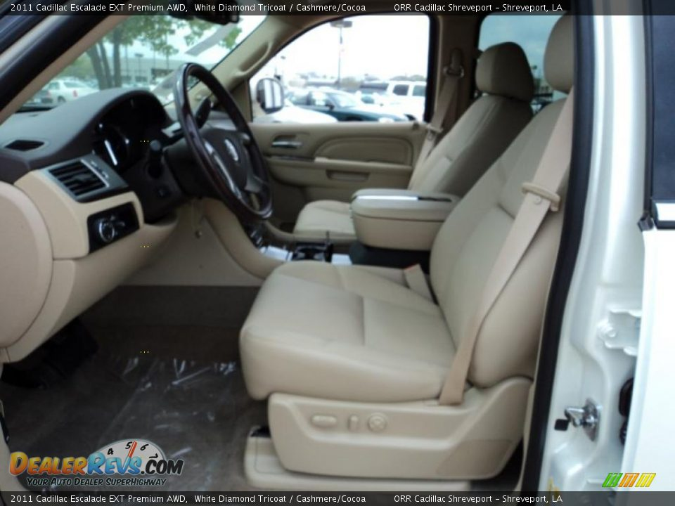 Cashmere Cocoa Interior 2011 Cadillac Escalade Ext Premium Awd Photo 7