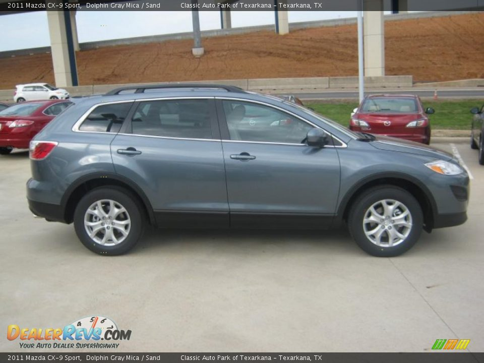 dolphin gray mica 2011 mazda cx 9 sport photo 6. Black Bedroom Furniture Sets. Home Design Ideas