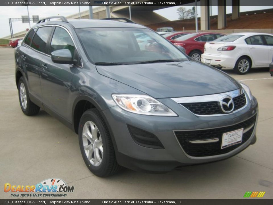 2011 mazda cx 9 sport dolphin gray mica sand photo 7. Black Bedroom Furniture Sets. Home Design Ideas