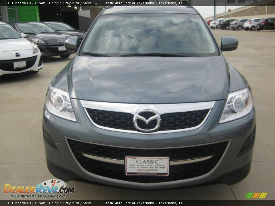 2011 mazda cx 9 sport dolphin gray mica sand photo 8. Black Bedroom Furniture Sets. Home Design Ideas