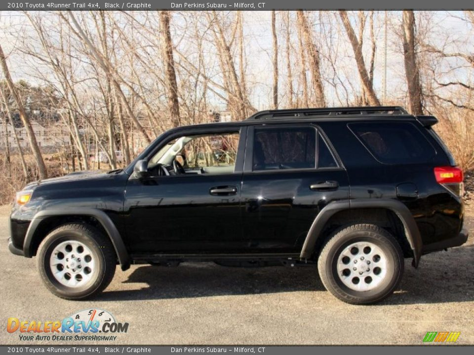 2010 toyota 4runner trail 4x4 black graphite photo 12. Black Bedroom Furniture Sets. Home Design Ideas