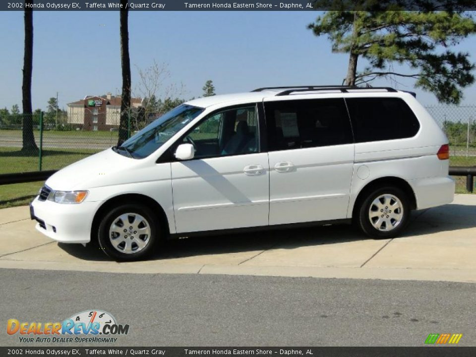 Taffeta White 2002 Honda Odyssey Ex Photo 9 Dealerrevs Com
