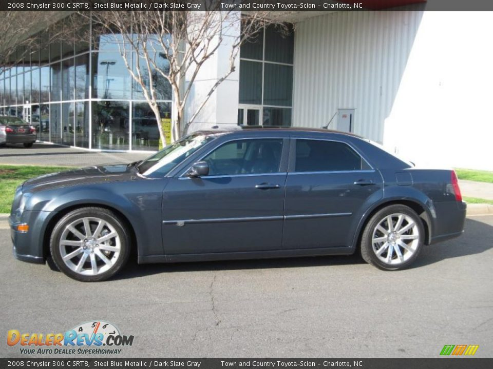 steel blue metallic 2008 chrysler 300 c srt8 photo 4. Black Bedroom Furniture Sets. Home Design Ideas