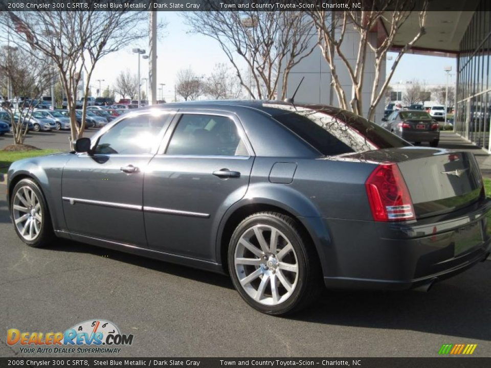 2008 chrysler 300 c srt8 steel blue metallic dark slate. Black Bedroom Furniture Sets. Home Design Ideas