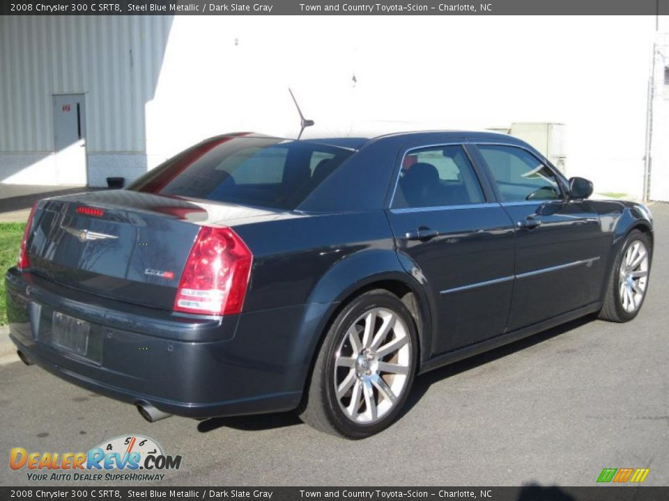 steel blue metallic 2008 chrysler 300 c srt8 photo 6. Black Bedroom Furniture Sets. Home Design Ideas
