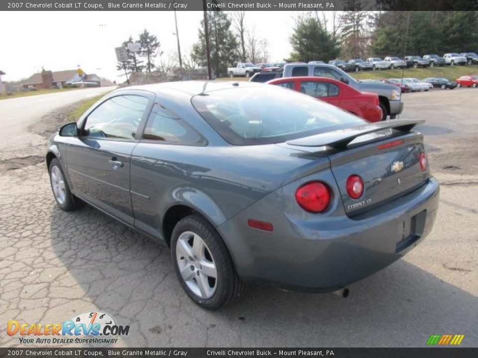2007 chevrolet cobalt lt coupe blue granite metallic. Black Bedroom Furniture Sets. Home Design Ideas