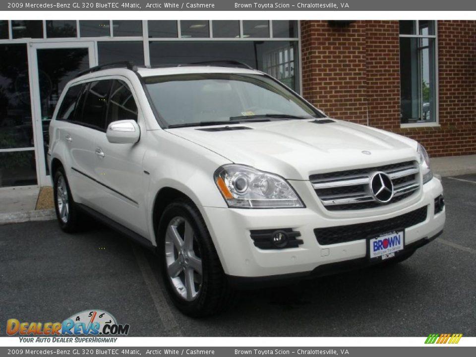 2009 mercedes benz gl 320 bluetec 4matic arctic white for Mercedes benz gl 320