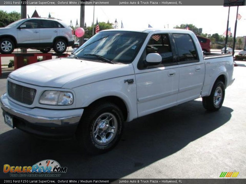 2001 ford f150 lariat supercrew oxford white medium parchment photo. Cars Review. Best American Auto & Cars Review