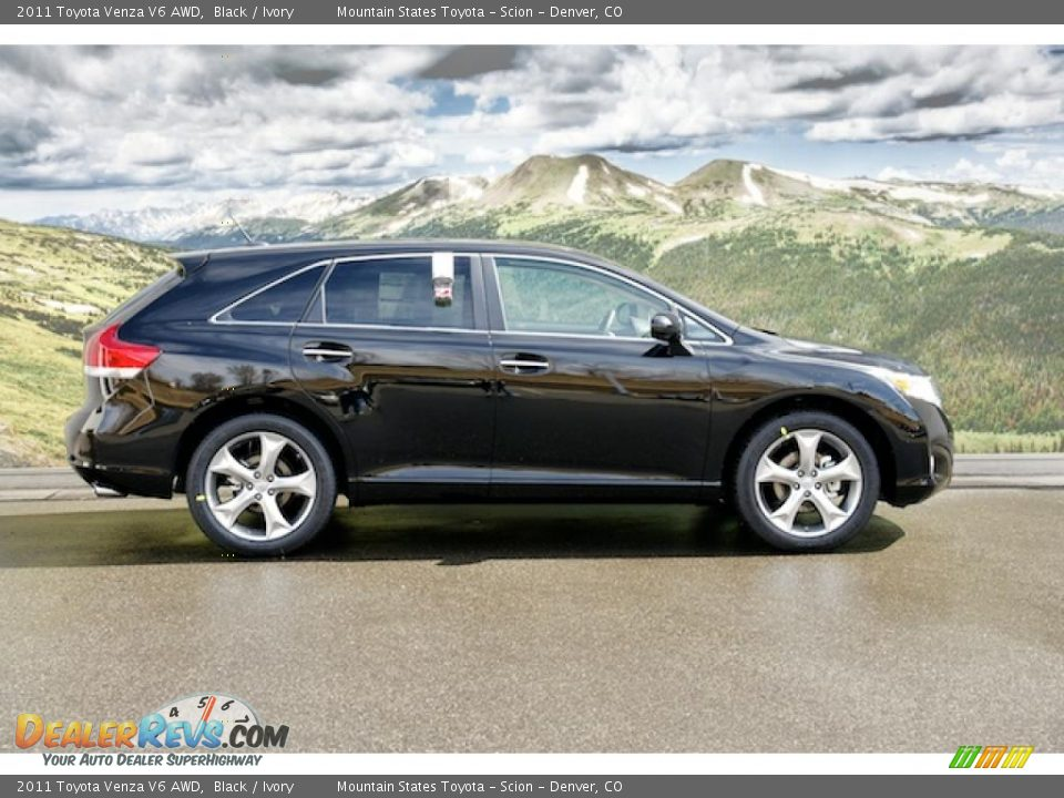 black 2011 toyota venza v6 awd photo 2. Black Bedroom Furniture Sets. Home Design Ideas