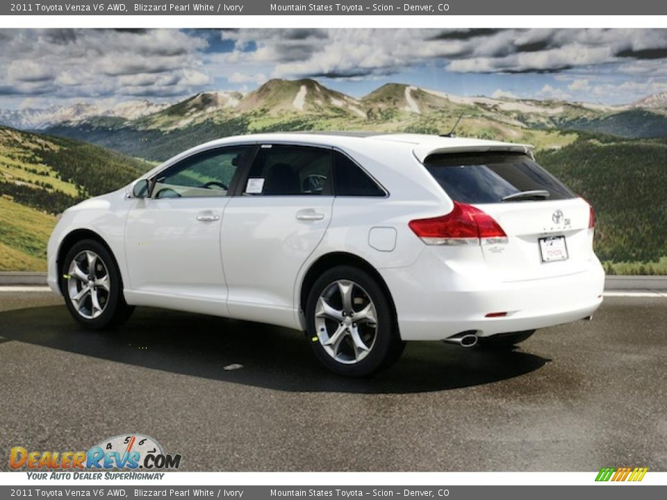 2011 toyota venza v6 awd blizzard pearl white ivory. Black Bedroom Furniture Sets. Home Design Ideas