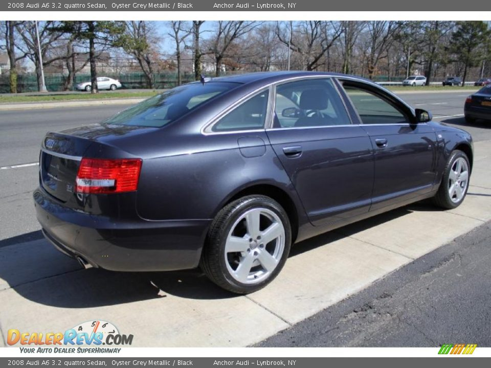 oyster grey metallic 2008 audi a6 3 2 quattro sedan photo 5. Black Bedroom Furniture Sets. Home Design Ideas