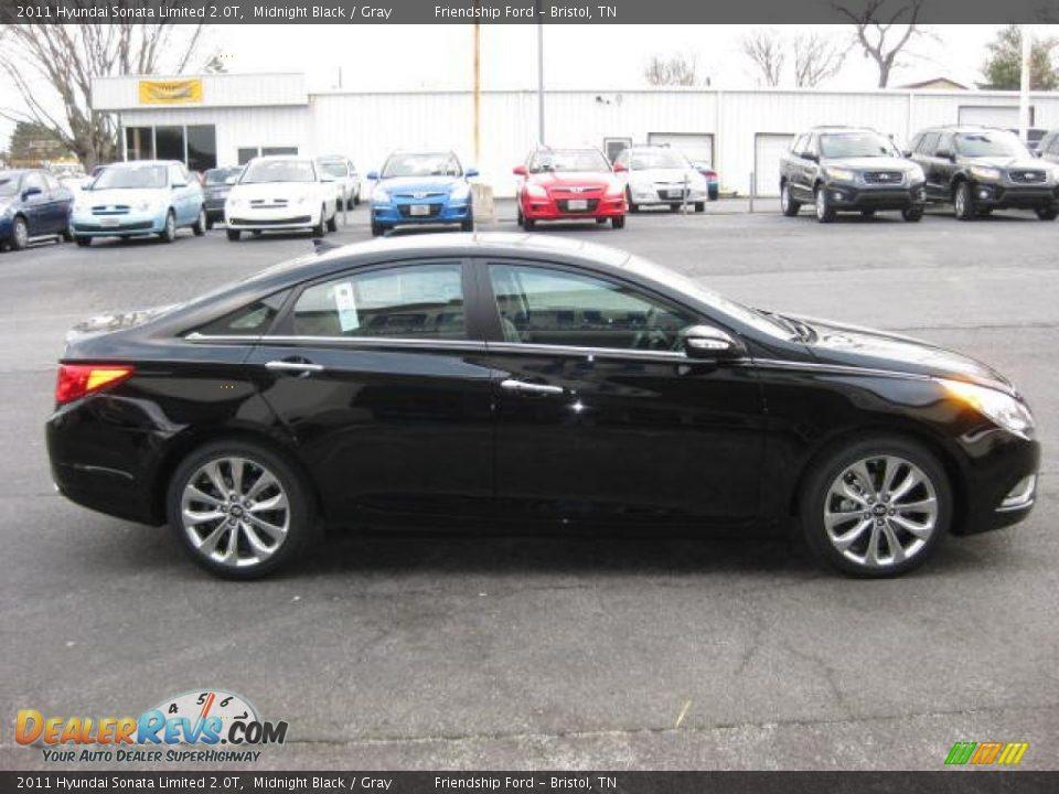 Midnight Black 2011 Hyundai Sonata Limited 2 0t Photo 5