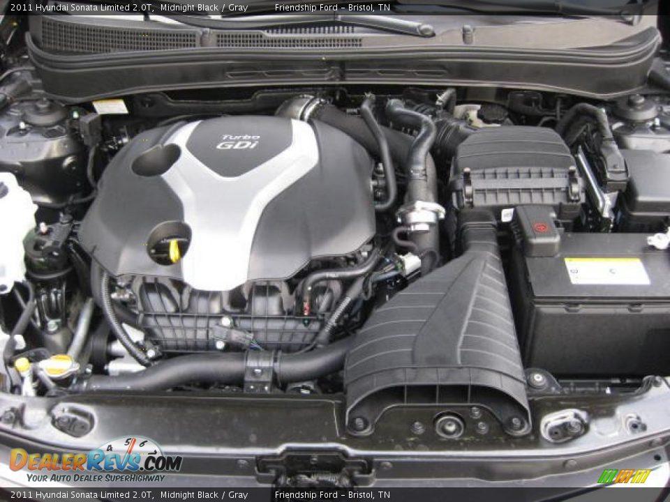 2011 hyundai sonata limited 2 0t 2 0 liter gdi turbocharged dohc 16 valve cvvt 4 cylinder engine. Black Bedroom Furniture Sets. Home Design Ideas
