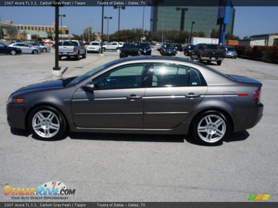 Carbon Gray Pearl 2007 Acura TL 3.2 Photo #2 | DealerRevs.com