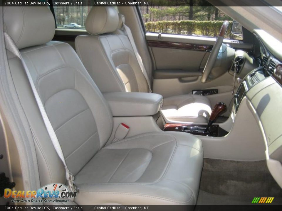 Shale Interior 2004 Cadillac Deville Dts Photo 12