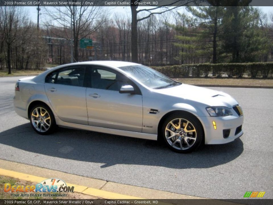 2009 pontiac g8 gxp maverick silver metallic onyx photo 5 dealerrevs com